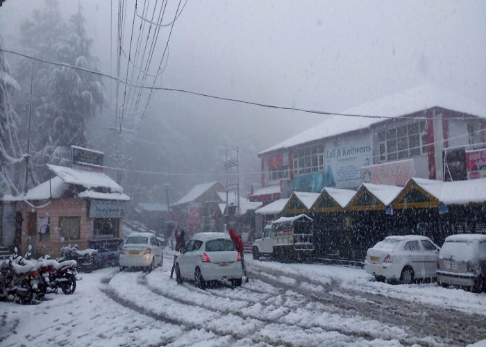 winter's back in the national capital due to snowfall in Shimla