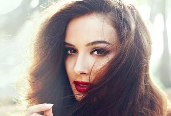 evelyn sharma's special painting