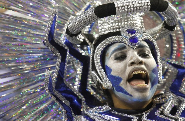 Brazil's five day festival of dancing, bare flesh and wild costumes