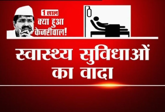 Kejriwal government on health services