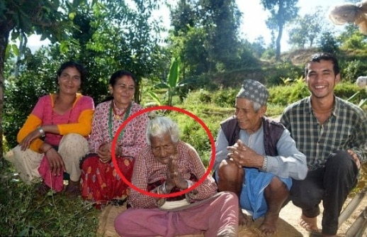 112 year old woman who has smoked 30 cigarettes a day for 95 years