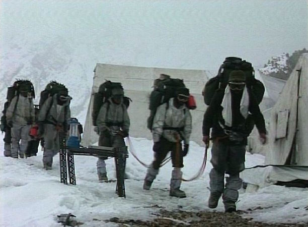 Salute to soldiers of the Siachen Glacier