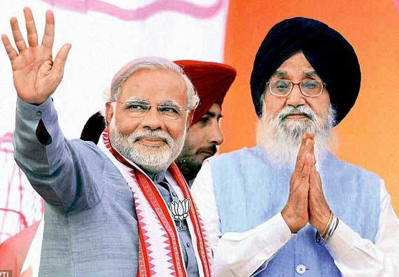 shiromani akali dal to be the part of nda for next 15 years says party