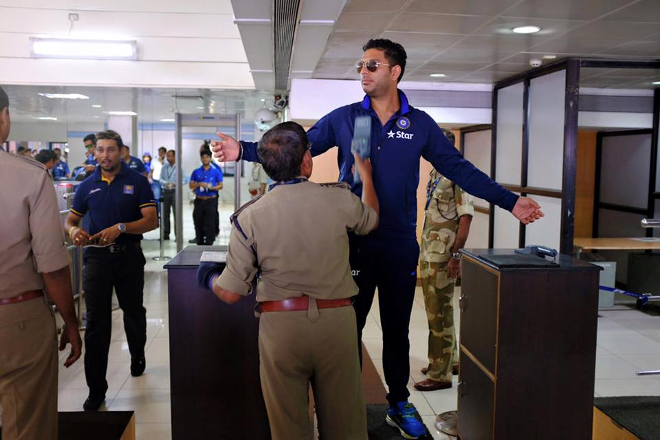 TeamIndia on their way to Ranchi for the 2nd T20