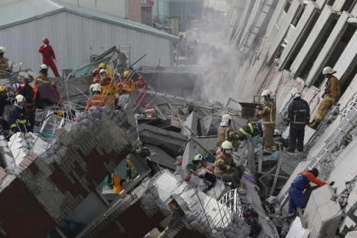 At least 46 killed in deadly earthquake in Taiwan