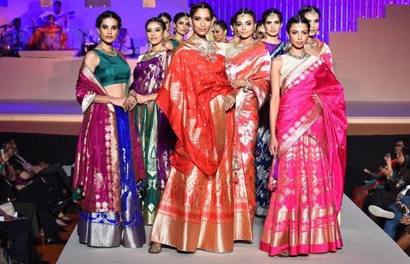 Banarasi weaves at Make In India week