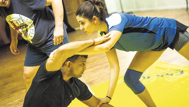 SEE PICS: Anushka Sharma is training hard for 'Sultan'