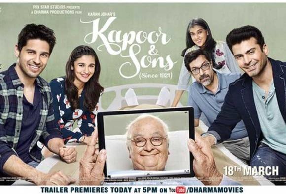 Watch:  Kapoor & Sons trailer