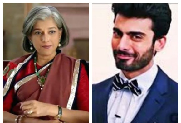 Ratna Pathak Shah is my permanent filmi maa: Fawad Khan