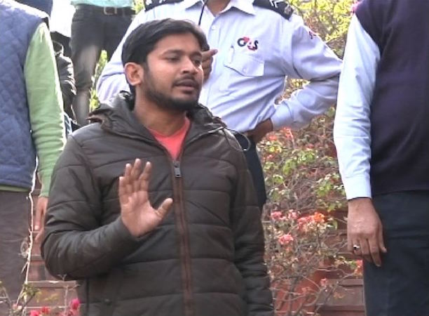 JNU Students' Union president Kanhaiya Kumar