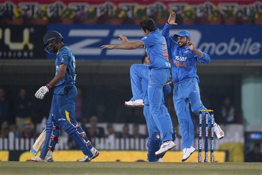 india beat sri lanka in ranchi t 20