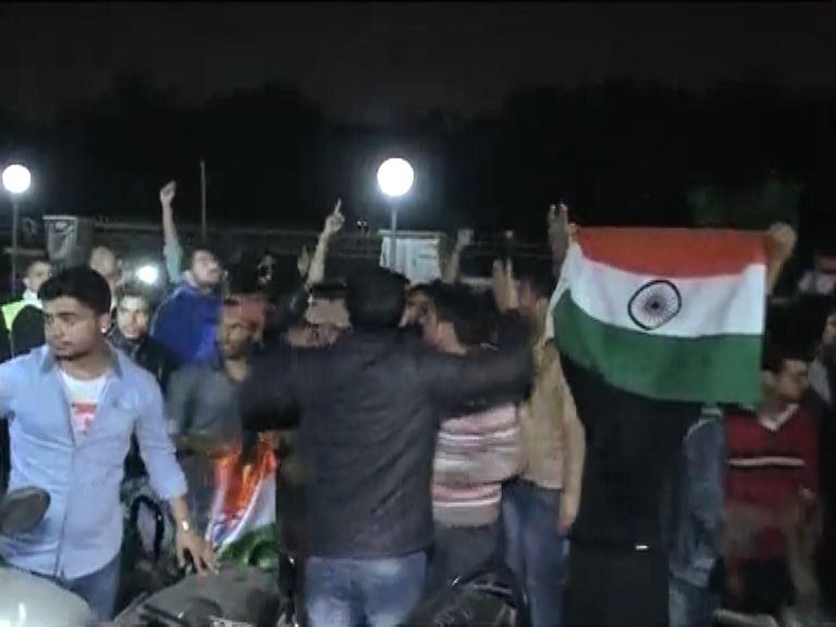 JNU ABVP protest 2