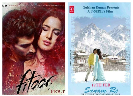 Box Office: First day collection of 'Fitoor' and 'sanam re'