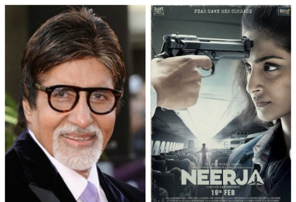 Ram madhvani deserves praise for Neerja says Amitabh Bachchan