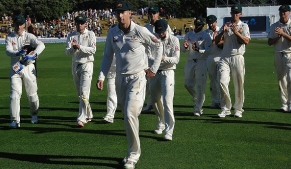 Australia firmly in charge after Voges 239
