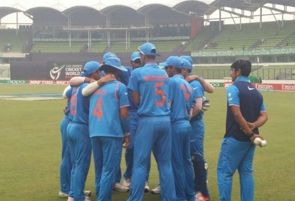 U-19 World Cup Final Live: Sarfaraz departs, India stare at a low score