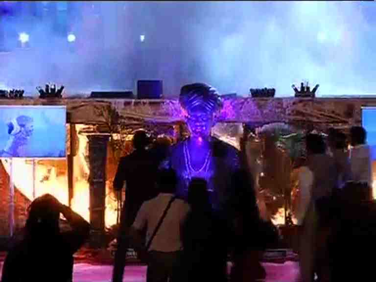 MUMBAI: Massive fire breaks out during 'Make in India' event
