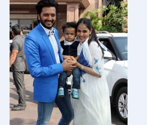 salman and sangeeta bijlani on baby shower ceremony