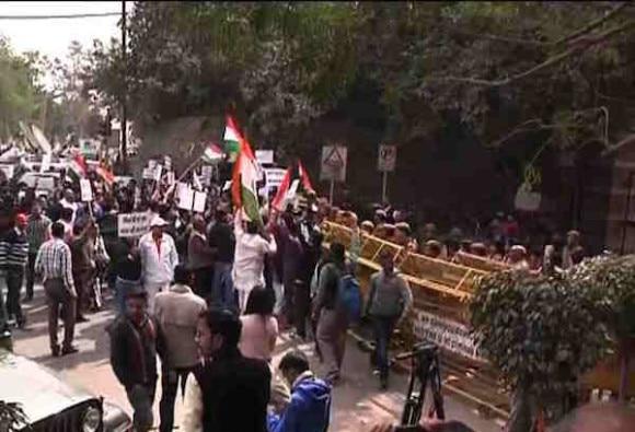 JNU students will protest demanding release of Khalid, Anirban