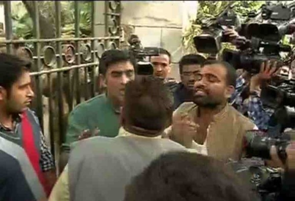 JNU students and teachers, attacked in court