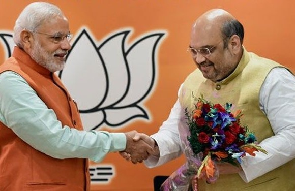 modi meets shah amidst jnu row