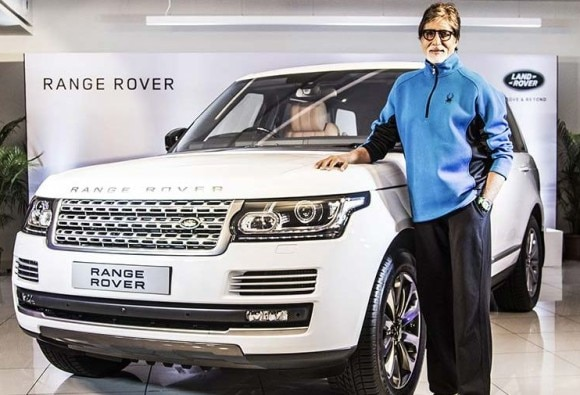 Amitabh buy a new land rover