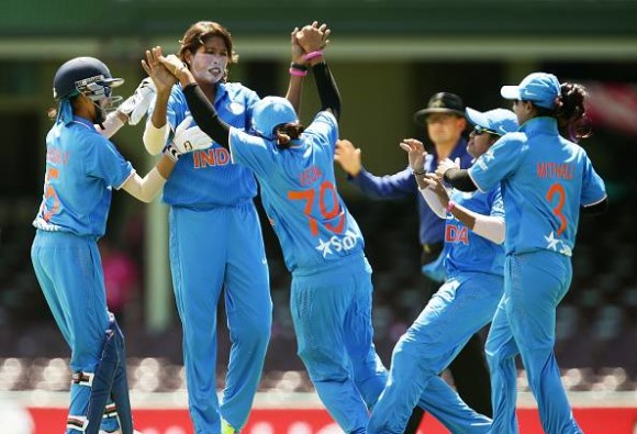 Indian Women Thrash Sri Lanka by 107 Runs in First ODI