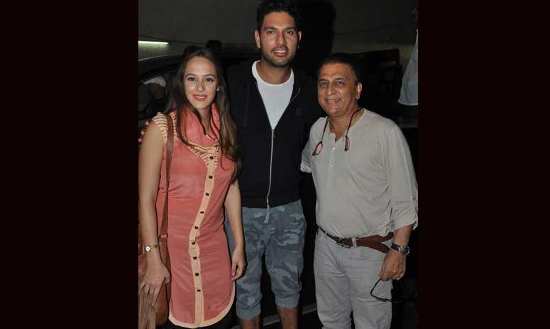 In Photos: Yuvraj Singh & Hazel Keech's Movie Date