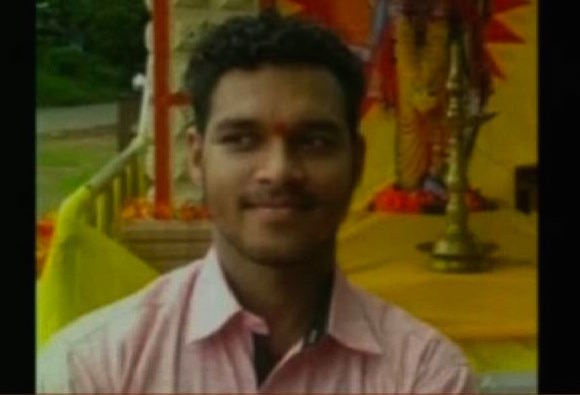 RSS worker Killed to death in front of parents