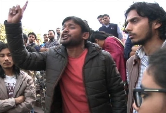 Full text and video of JNUSU president Kanhaiya Kumar's speech which sparked the JNUrow