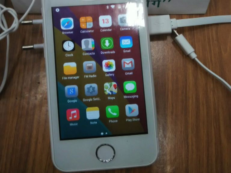 Freedom 251 in Picture