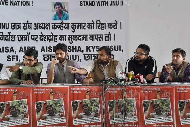 Students Unions Come Out In Support Of JNU Student Kanhaiya Kumar