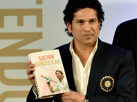 Tendulkar's autobiography enters Limca Book of Records