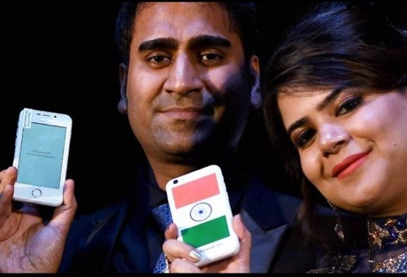 Freedom 251: Did Ringing Bells merely rebrand rival's Adcom device?