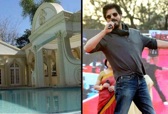 When a fan sneaked into SRK's home for a swim and not his autograph