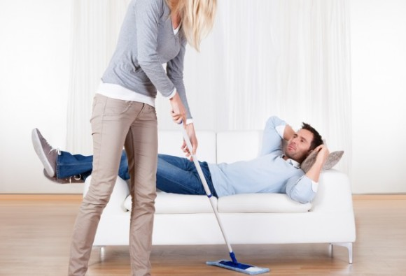 Husbands Create 7 Hours Of Extra Housework For Their Wives