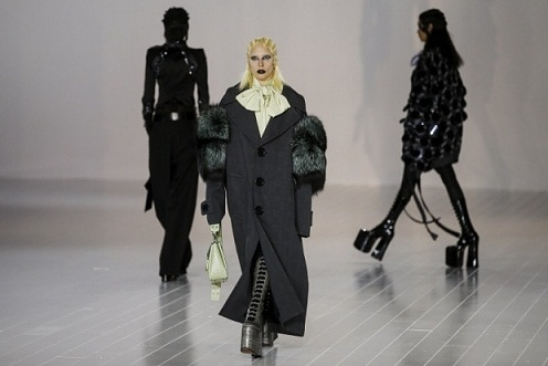 Lady Gaga Pops Up on Fashion Week Runway for Marc Jacobs