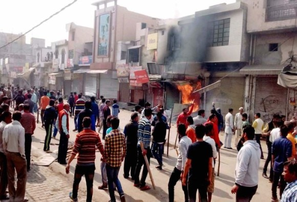 Jat reservation stir