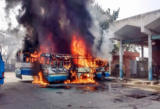 Why Haryana Government is unsuccessful to stop violence?