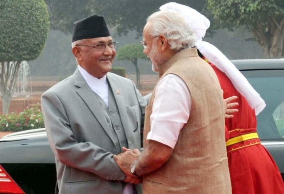 nepal pm satisfied with results of talking to pm modi