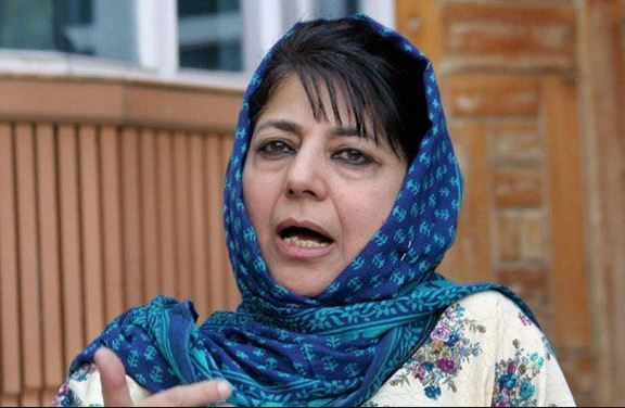 """mehbooba mufti says on jk govt formation,""""only time can tell"""""""
