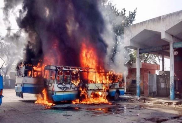 jat agitation: Nh1 again blocked by jats