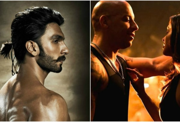 Vin Diesel, DJ Caruso welcoming people: Ranveer Singh