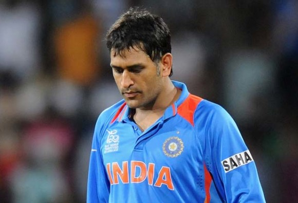 Indian Captain suffered a muscle spasm