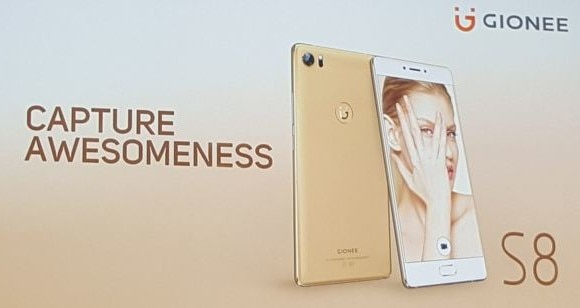 Gionee S8 launched with 3D Touch display at MWC 2016