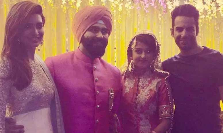 Arya Babbar marries girlfriend Jasmine Puri, see photo