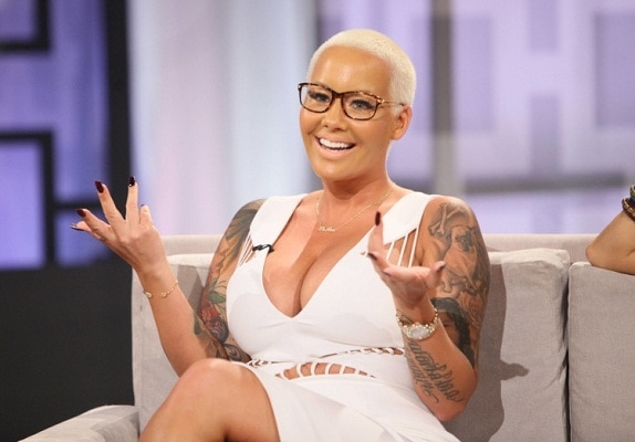 Amber Rose Shuts Down Hosts For Saying She's Sexually Assaulted Because of Her Image
