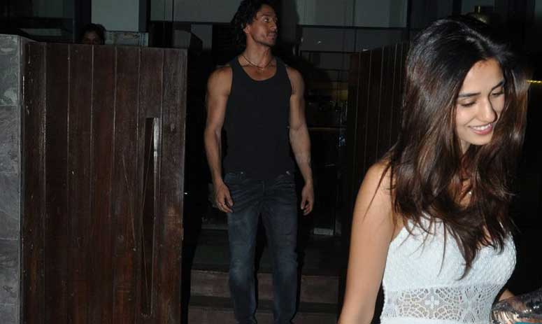 Spotted: Tiger Shroff Spends Alone Time with Alleged Girlfriend Disha Patani