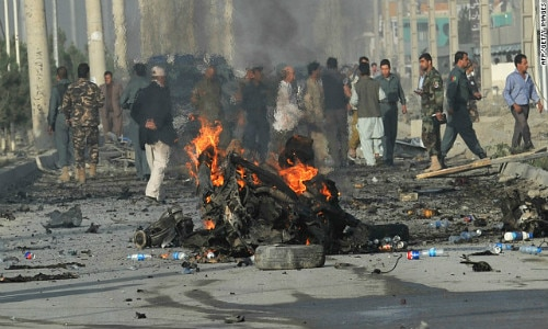 Afghanistan: 13 killed in sucide attack
