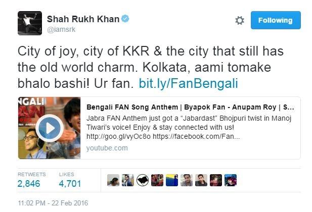 Shah Rukh Khan fan of Mahatma Gandhi, Sachin Tendulkar, Rajinikanth